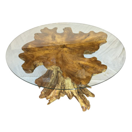 Buy Root Mushroom Solid Dining Table With 150cm Round
